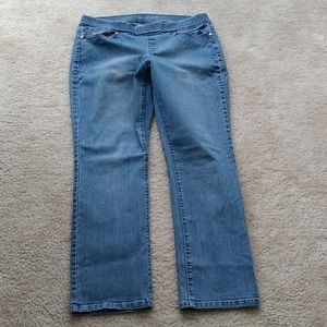 Women's petite  pull on jeans size 12P
